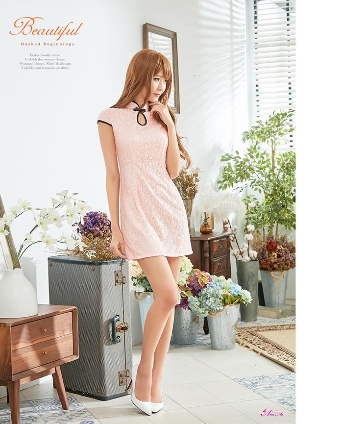 z2281 ハロウィン コスプレ チャイナドレス コスチューム ミニ チャイナ服 衣装 セクシー_画像7