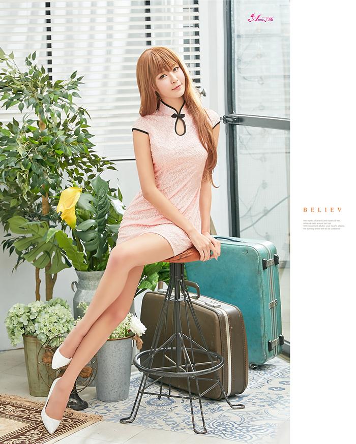 z2281 ハロウィン コスプレ チャイナドレス コスチューム ミニ チャイナ服 衣装 セクシー_画像6