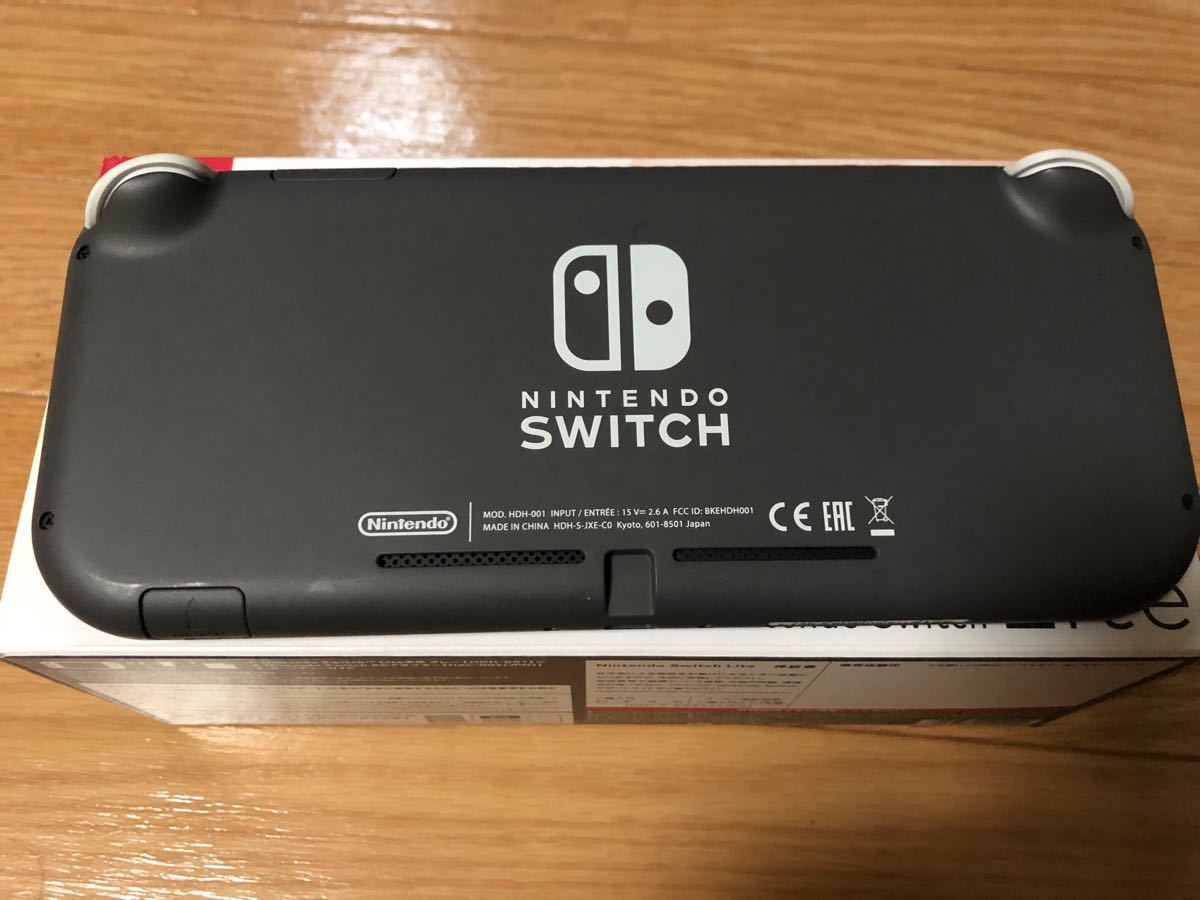 Nintendo Switch 本体 充電器初期付属全部あり!