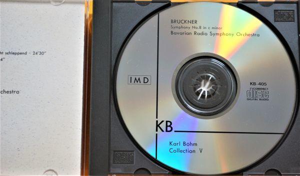 CD IMD 輸入盤 ☆ ブルックナー:交響曲 第8番 ☆ カール・ベーム/バイエルン放送交響楽団_画像2