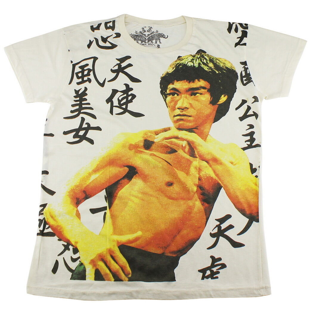 海外 限定 送料込み ブルース・リー 李小龍 シャツ サイズ各種 7_画像1