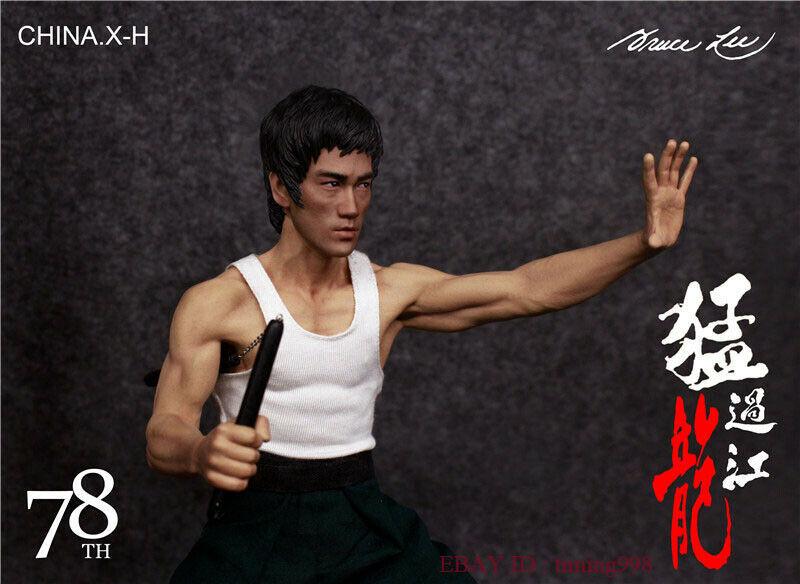 br 海外 限定 送料込み ブルース・リー 李小龍 CHINA. X- H Bruce Lee Commemorate 78周年記念 限定フィギュア 1/6 スケールサイズ_画像4