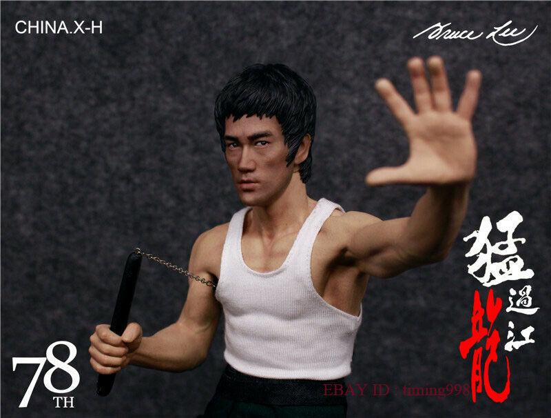 br 海外 限定 送料込み ブルース・リー 李小龍 CHINA. X- H Bruce Lee Commemorate 78周年記念 限定フィギュア 1/6 スケールサイズ_画像2