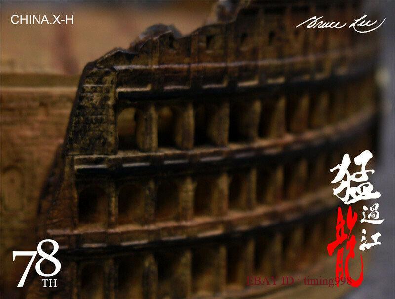 br 海外 限定 送料込み ブルース・リー 李小龍 CHINA. X- H Bruce Lee Commemorate 78周年記念 限定フィギュア 1/6 スケールサイズ_画像6