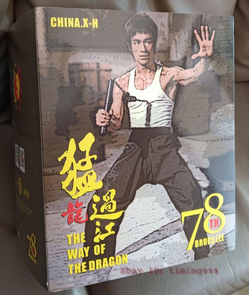 br 海外 限定 送料込み ブルース・リー 李小龍 CHINA. X- H Bruce Lee Commemorate 78周年記念 限定フィギュア 1/6 スケールサイズ_画像8