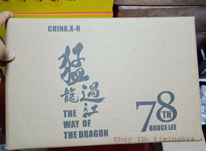br 海外 限定 送料込み ブルース・リー 李小龍 CHINA. X- H Bruce Lee Commemorate 78周年記念 限定フィギュア 1/6 スケールサイズ_画像9