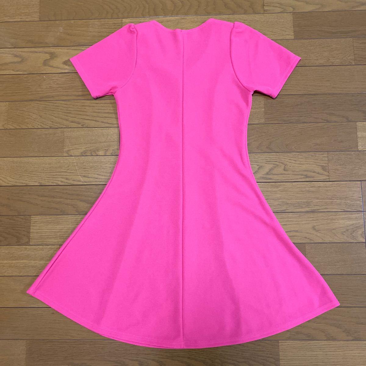 ワンピース ピンク ミニワンピース ドレス