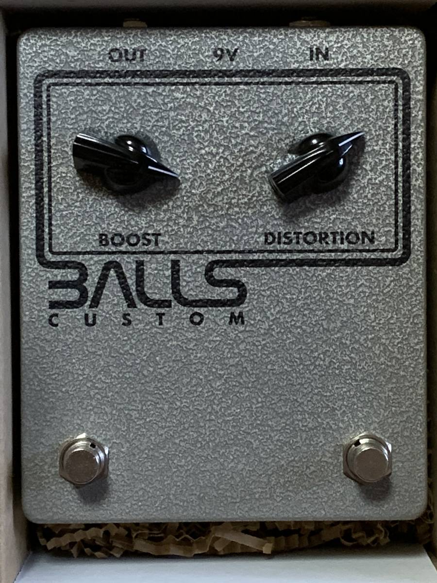 Balls Custom Vox Distortion Boost Starstream Ultrasonic fuzz クローン