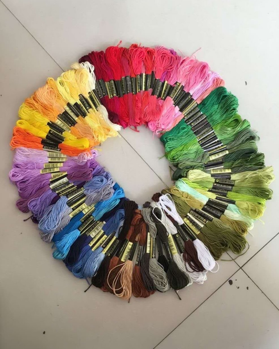 刺繍糸100束セット(在庫薄)