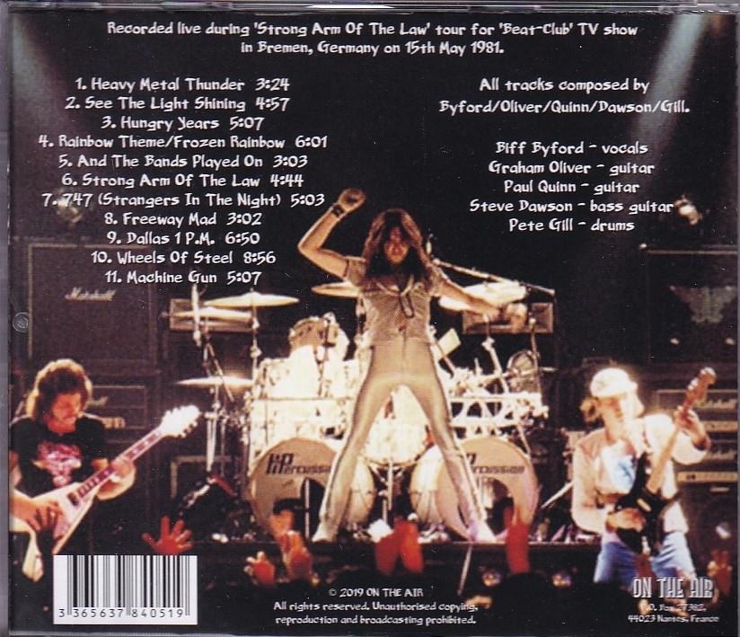 【新品CD】 Saxon - Live at Beat-Club 1981_画像2