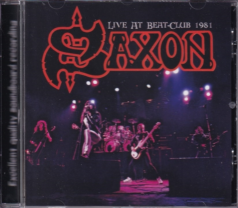 【新品CD】 Saxon - Live at Beat-Club 1981_画像1