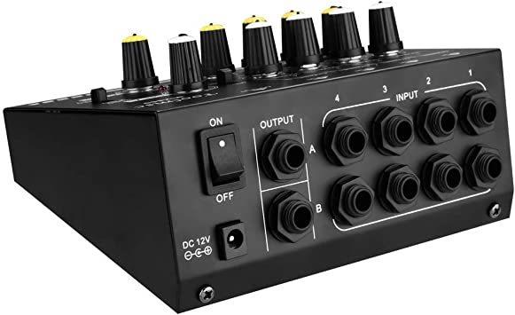 Toolmsc 8チャンネミキサー、ルモノラルステレオオーディオミキサー、CDプレーヤー、MP3プレーヤー、カセットレコーダーに_画像7