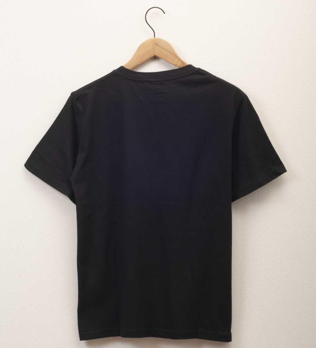 【新品未使用】M 猫缶デザイン 半袖Tシャツ ブラック プリントTシャツ ネコ 猫 キャラT メンズ トップス 男女兼用 カワイイ cat にゃんこ