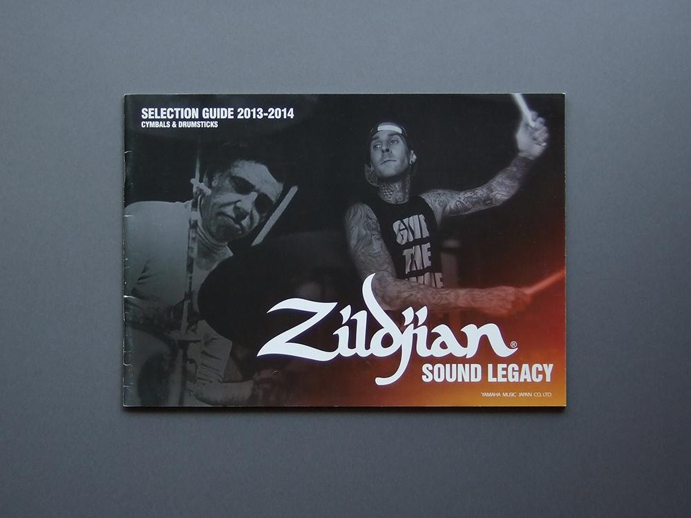 【カタログのみ】Zildjian 2013-2014 SELECTION GUIDE CYMBALS & DRUMSTICKS 検 YAMAHA ジルジャン ドラム シンバル ドラムスティック _画像1
