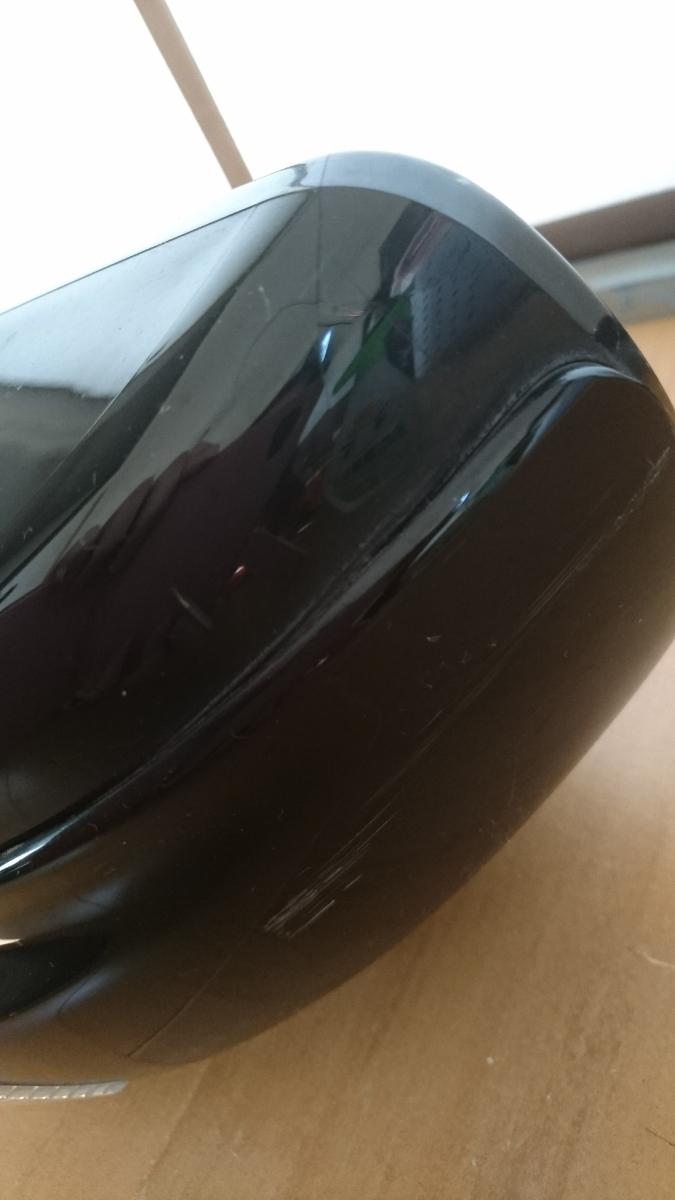 V管u300331-0217 日産 NISSAN フーガ 350GT XV PY50 ドアミラー サイドミラー 右 R ウィンカー付 11P KH3 黒 系_画像8