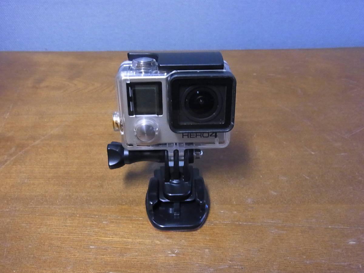 アクションカメラ GoPro HERO4 Black ブラックエディション 動作確認済み