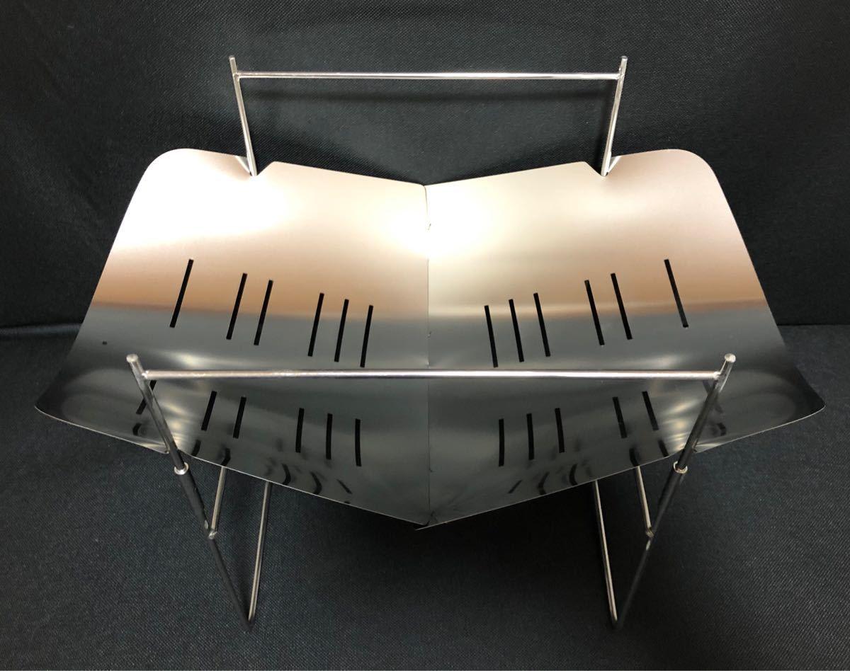 焚き火台 バーベキューコンロ スピット3本付属 キャンプ用品 ソロキャン