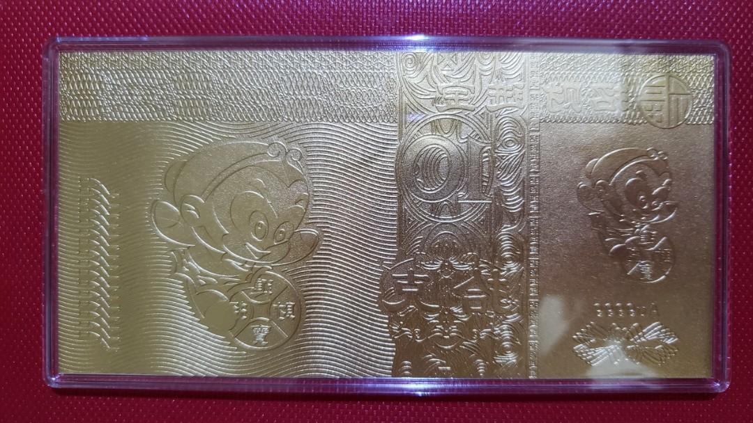 【地金】猿年 純金 9999 金延べ板ゴールドリーフ 10グラム【送料込み】_画像2