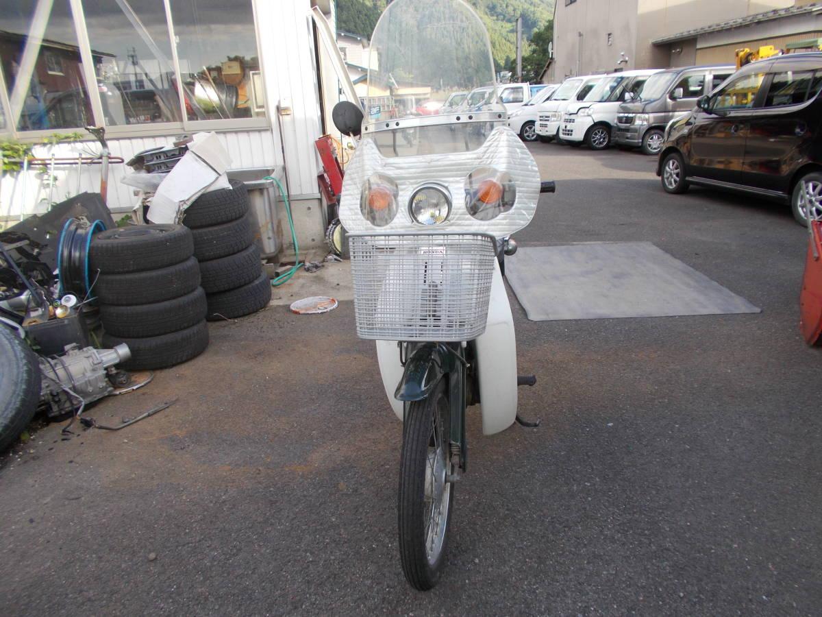 「秋田発 ホンダ スーパーカブ C50 50cc カブ 現状渡し レストアベースに 」の画像2