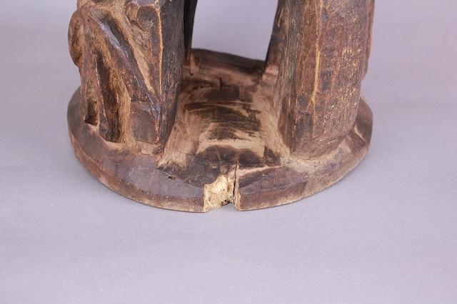 ロビ椅子 アフリカのスツール_画像3