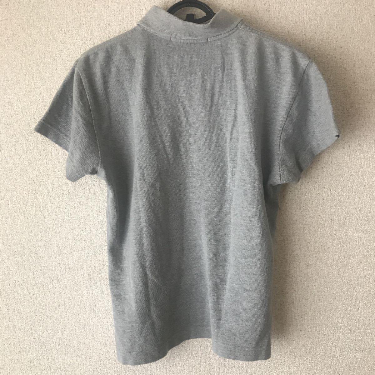 ポロシャツ グレー M