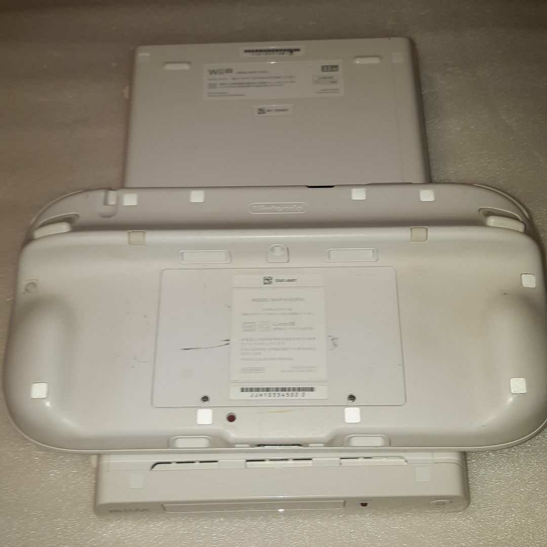 WiiU 白 本体 32GB(WUP-101) Wii U 本体
