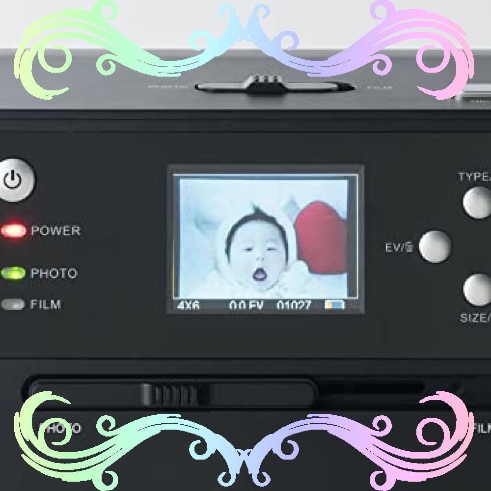 サンワダイレクト フィルム&写真スキャナー 高画質1400万画素 ネガ/ポジ モニタ付 SD保存 USB充電式 400-_画像9