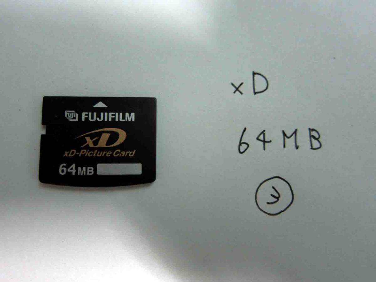 xD Picture card Fuji film ③ 64MB postage included