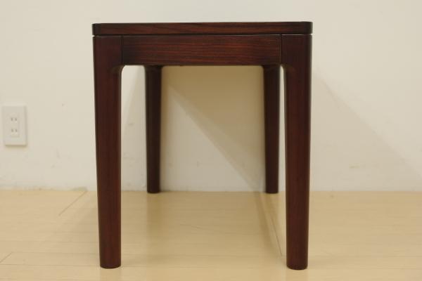 mobilia モビリア ローズウッド サイドテーブル ローテーブル コーヒーテーブル 飾り台 リビング ベッドサイド 幅70cm コンパクト B_画像8