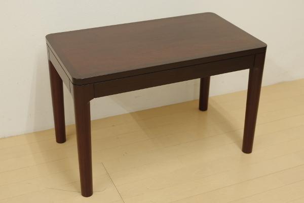 mobilia モビリア ローズウッド サイドテーブル ローテーブル コーヒーテーブル 飾り台 リビング ベッドサイド 幅70cm コンパクト B_画像1