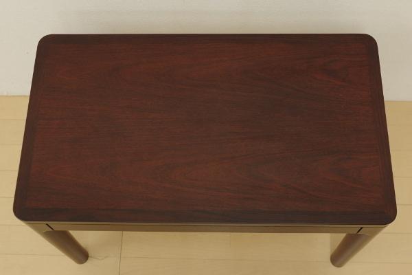 mobilia モビリア ローズウッド サイドテーブル ローテーブル コーヒーテーブル 飾り台 リビング ベッドサイド 幅70cm コンパクト B_画像4