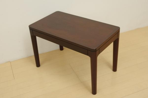 mobilia モビリア ローズウッド サイドテーブル ローテーブル コーヒーテーブル 飾り台 リビング ベッドサイド 幅70cm コンパクト B_画像9