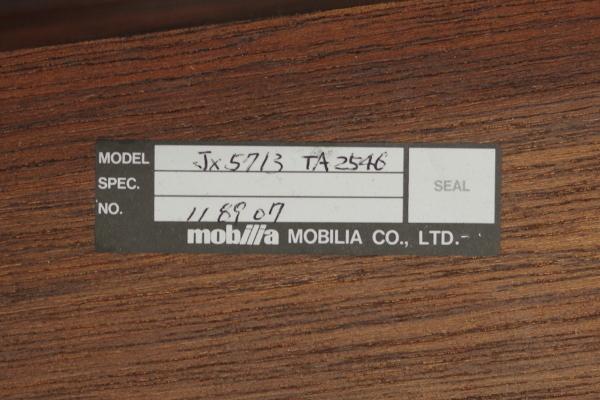 mobilia モビリア ローズウッド サイドテーブル ローテーブル コーヒーテーブル 飾り台 リビング ベッドサイド 幅70cm コンパクト B_画像10