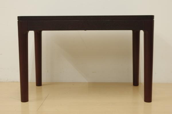 mobilia モビリア ローズウッド サイドテーブル ローテーブル コーヒーテーブル 飾り台 リビング ベッドサイド 幅70cm コンパクト B_画像2