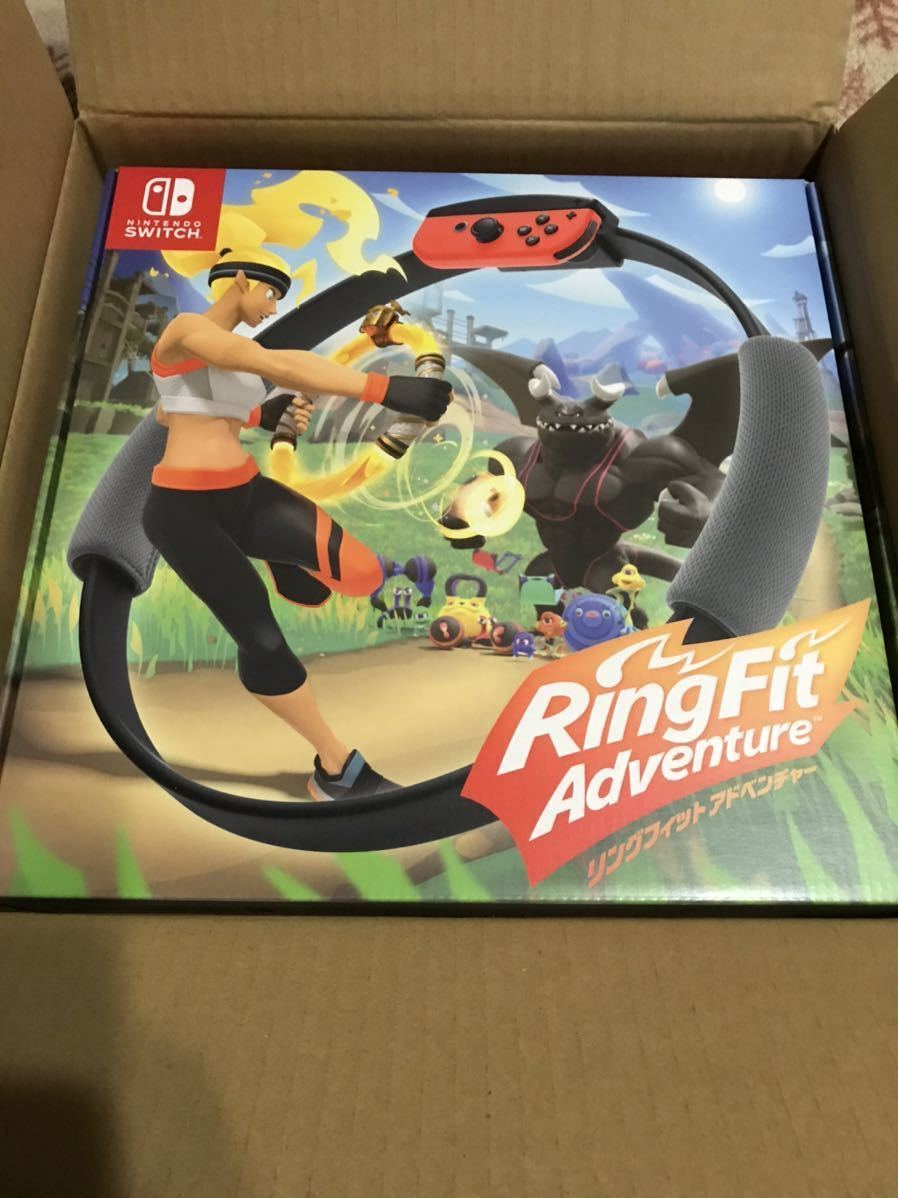 Nintendo Switch リングフィットアドベンチャー 新品未開封 ニンテンドースイッチ