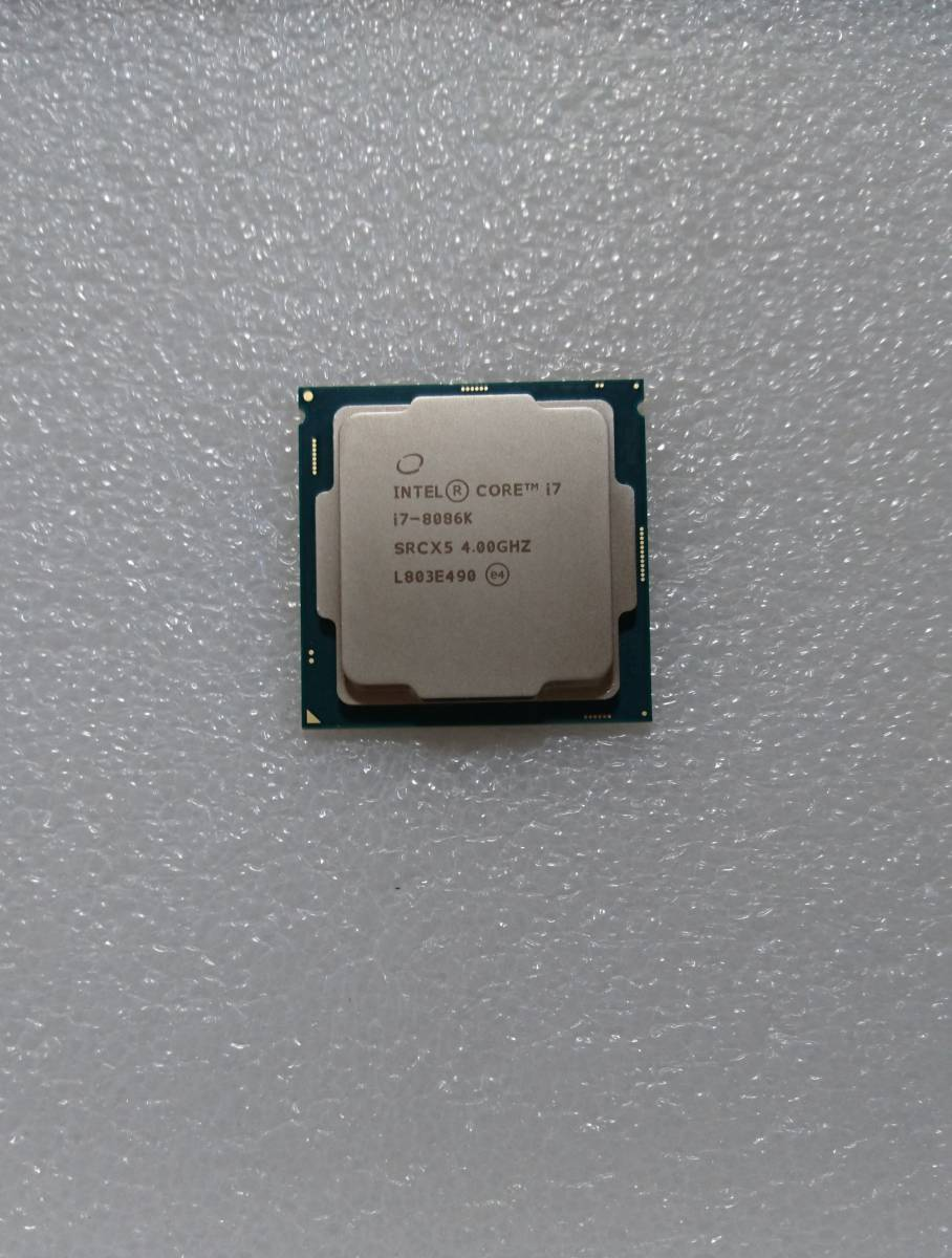 Core i7-8086K intel SRCX5 4.00GHz LGA1151 インテル CPU 第8世代 junk