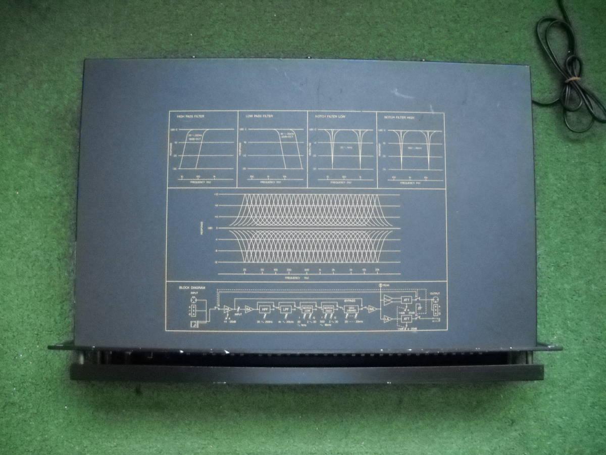 YAMAHA 業務用 グラフィック イコライザー Q1131 通電確認_画像7