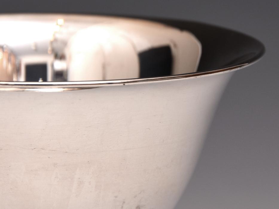 銀製 銀 カップ 盃 重:82g K.MIYATA 酒器 酒杯 杯 シルバー 金属工芸 b8920n_画像5