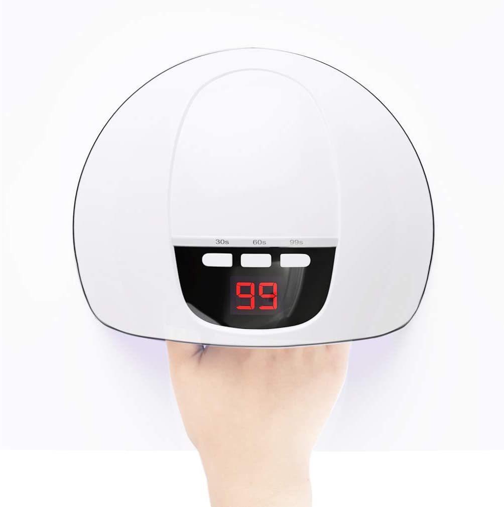 YINGJEE ネイルドライヤー+ブラシ セット 硬化用UVライト 赤外線検知 36W自動センサー タイマー機能 ジェルネイル ネイルポリッシュ レジン_画像5
