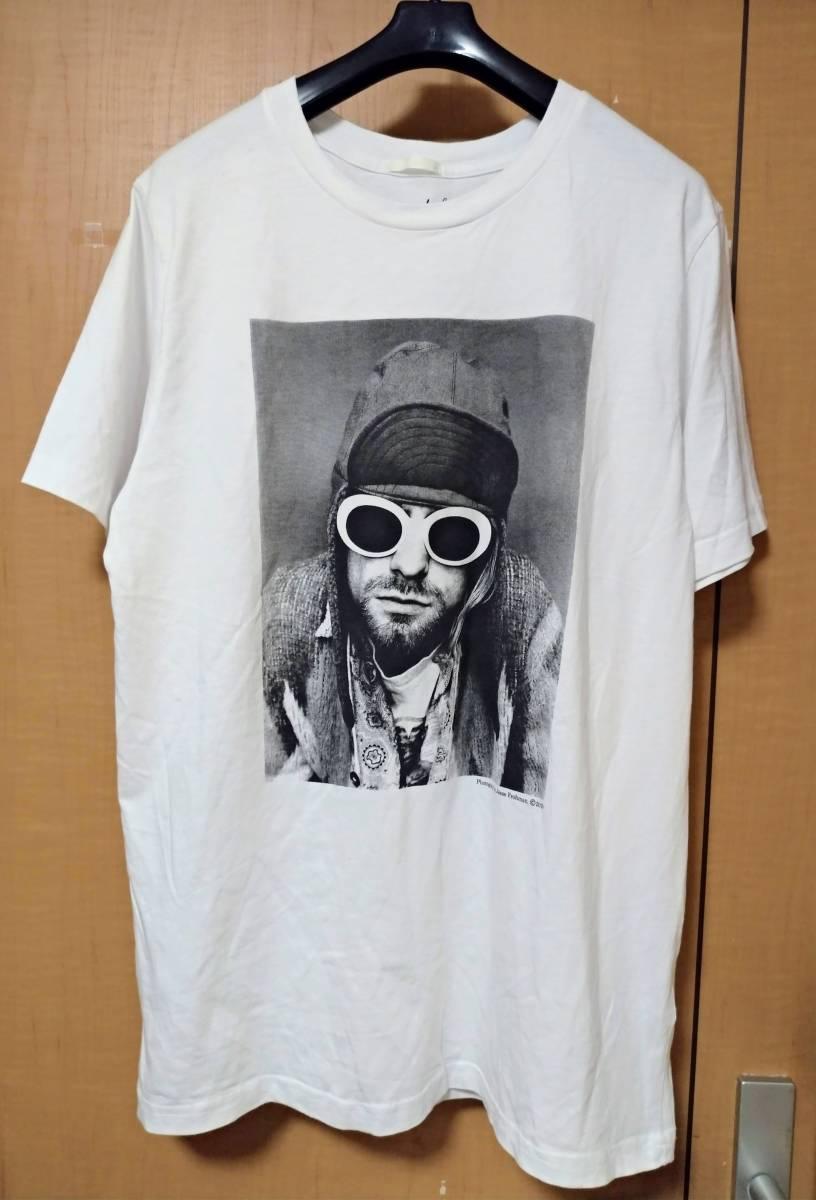 新品未着 NIRVANA Kurt Cobain Tシャツ L カットソー カート・コバーン ニルヴァーナ ニルバーナ カート・コバーン_画像1