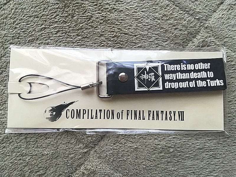 ファイナルファンタジー7 神羅 ストラップ 非売品