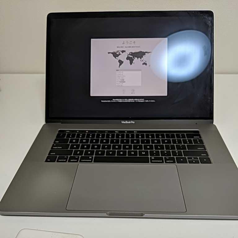MacBook Pro (15-inch, 2017年モデル) 2.9GHzクアッドコア 16GB 512 ssd USキーボード