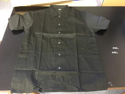 新品 ★ キャブクロージング ワークシャツ ブラック Mサイズ C.A.B. Clothing Work Shirt_画像2