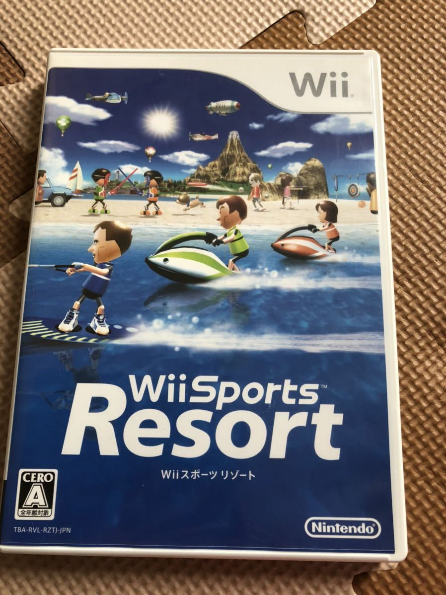 Wiiスポーツリゾート Wii ソフト WiiU