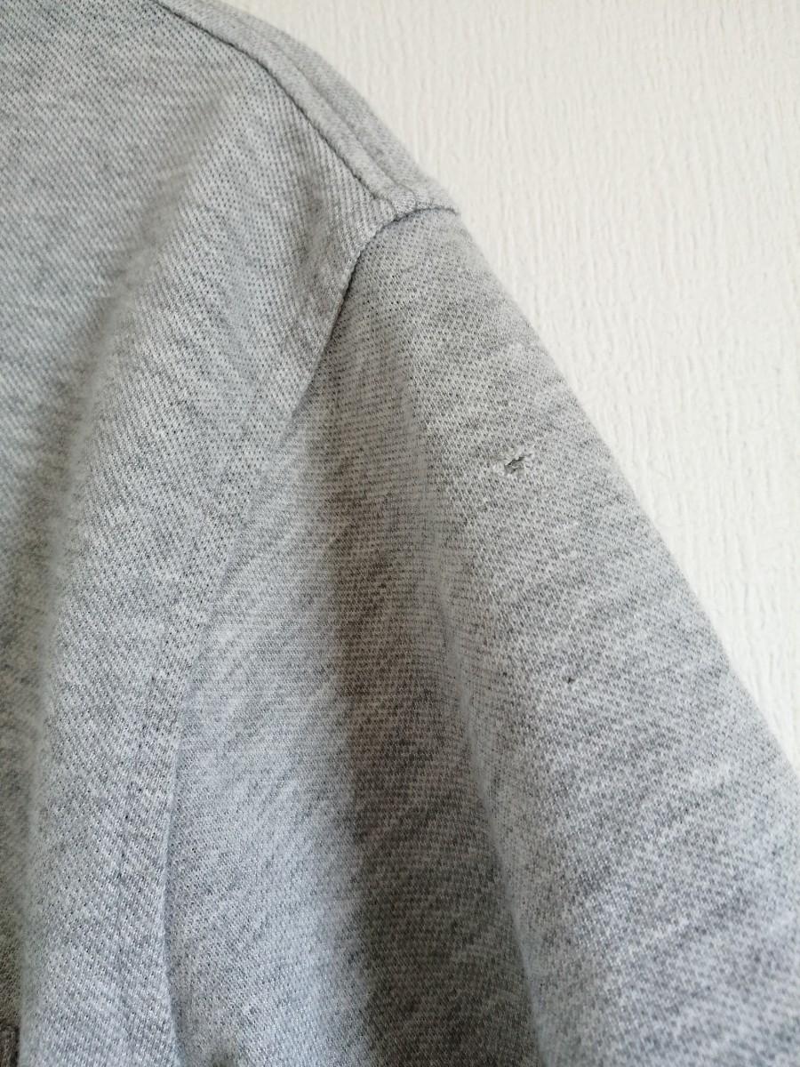 ポロシャツ トップス メンズ Mサイズ グレー 半袖
