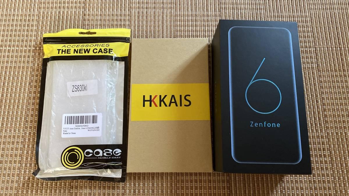 【完動品・極美品・送料無料】Zenfone6 ZS630KL 8G RAM 256GB SIMフリー ブラック_画像1