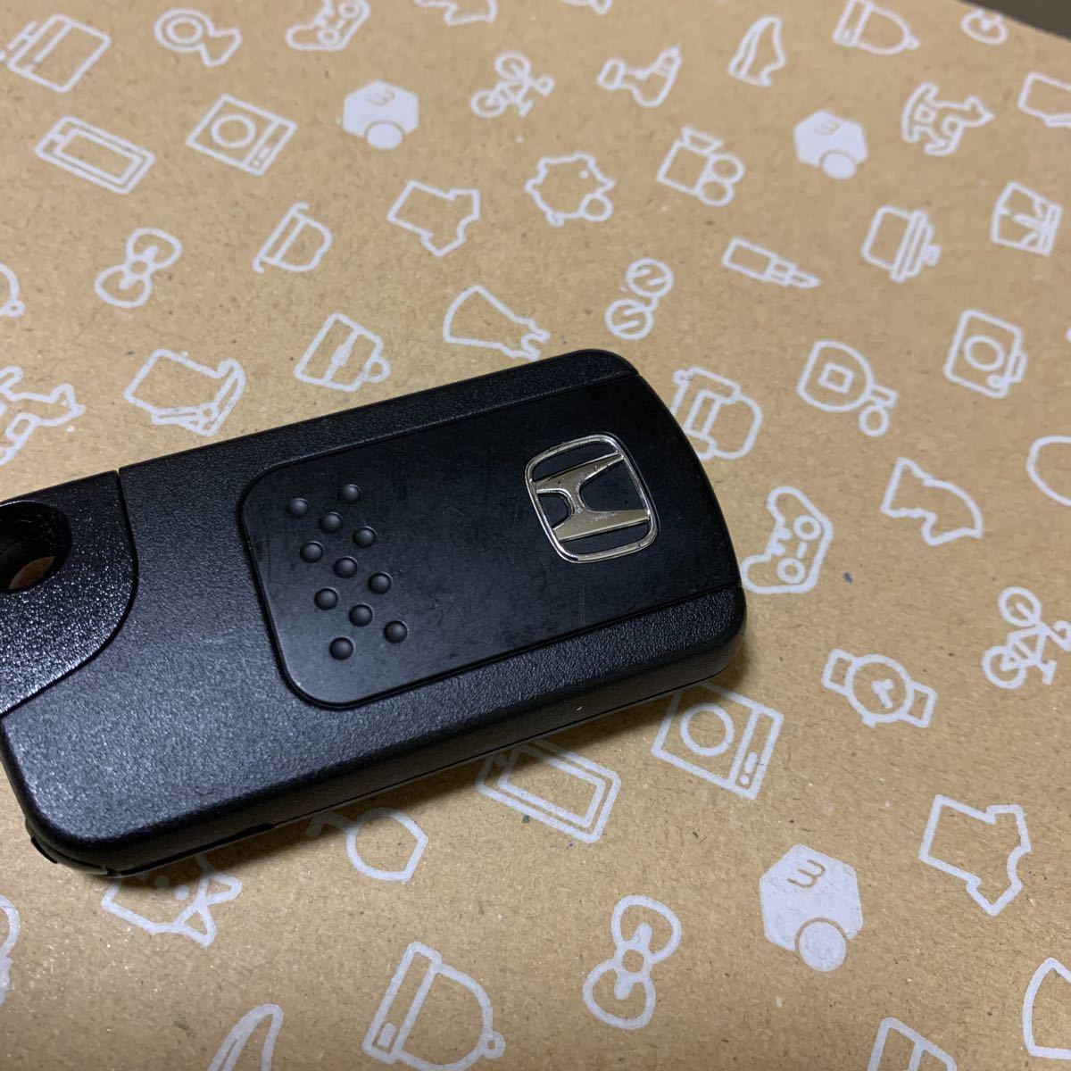 ホンダ RK ステップワゴン スパーダ スマートキー 両側パワースライドドア 4ボタン/72147-SZW-J71 美品    12_画像3