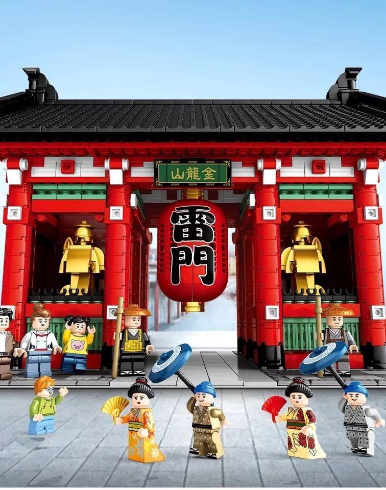 LEGO互換 浅草寺 クールジャパン_画像2