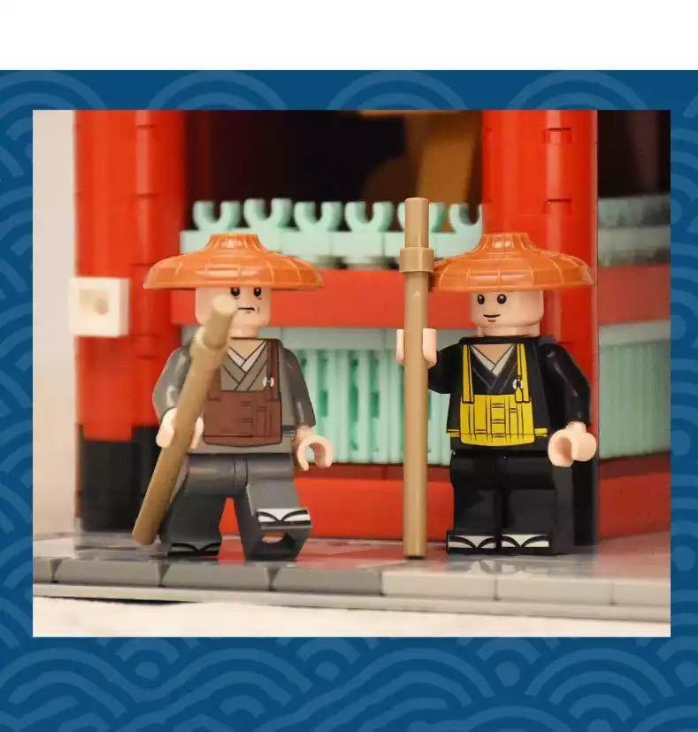 LEGO互換 浅草寺 クールジャパン_画像3