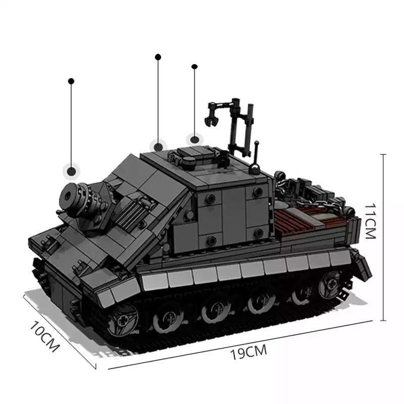 LEGO互換 38cm突撃臼砲 ストームタイガー_画像2